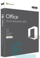 ПЗ Microsoft Office Mac Home and Business 2016 Russian 1PK Medialess P2 (W6F-00878) фото