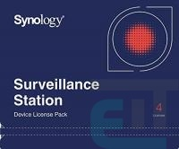 Synology Camera License Pack (4 cameras) (DEVICE_LICENSE_(X4)) фото