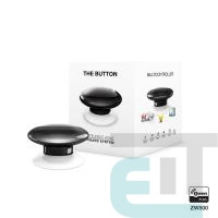 Розумна кнопка Fibaro The Button, Z-Wave, 3V ER14250, чорна (FGPB-101-2_ZW5) фото
