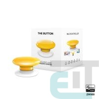 Умная кнопка Fibaro The Button, Z-Wave, 3V ER14250, желтая (FGPB-101-4_ZW5) фото