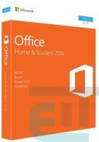 ПЗ Microsoft Office Home and Student 2016 Ukrainian Medialess P2 (79G-04633) фото