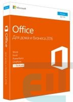 ПЗ Microsoft Office Home and Business 2016 32/64 Ukrainian CEE Only DVD P2 (T5D-02734) фото