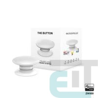 Розумна кнопка Fibaro The Button, Z-Wave, 3V ER14250, біла (FGPB-101-1_ZW5) фото