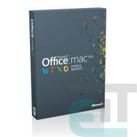 ПЗ Microsoft Office Mac Home and Business 2011 Russian DVD (W6F-00211) фото