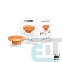 Розумна кнопка Fibaro The Button, Z-Wave, 3V ER14250, помаранчева (FGPB-101-8_ZW5) фото
