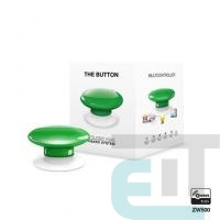 Розумна кнопка Fibaro The Button, Z-Wave, 3V ER14250, зелена (FGPB-101-5_ZW5) фото