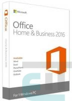 ПО Microsoft Office Home and Business 2016 32/64 English DVD P2 (T5D-02710) фото
